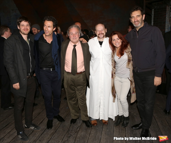 Michael Esper, Aaron Lazar, Fred Applegate, Jeremy Davis, Rachel Tucker and Jimmy Nail