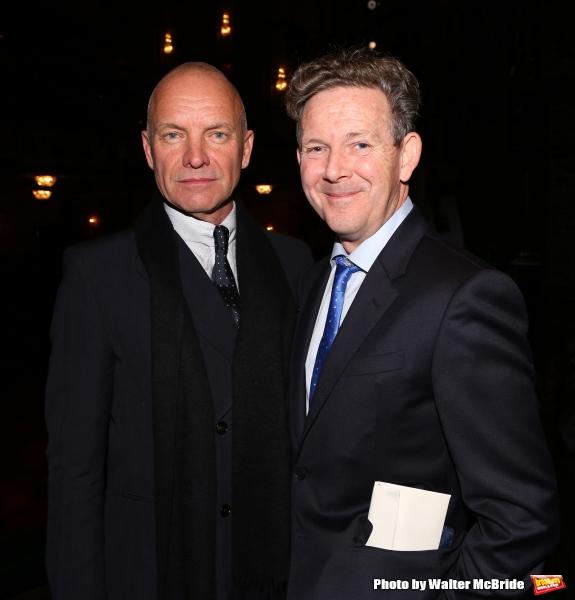 Sting and John Logan