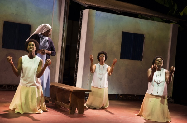 Nneka Okafor, Starla Benford, Mandi Masden, Joaquina Kalukango