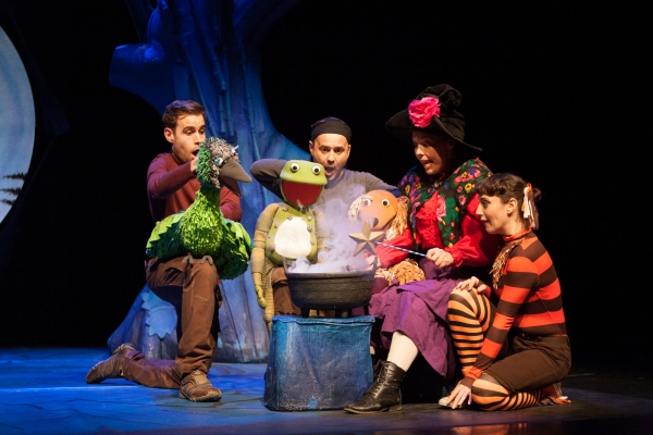 Photo Flash: ROOM ON THE BROOM Flies Into the West End Today
