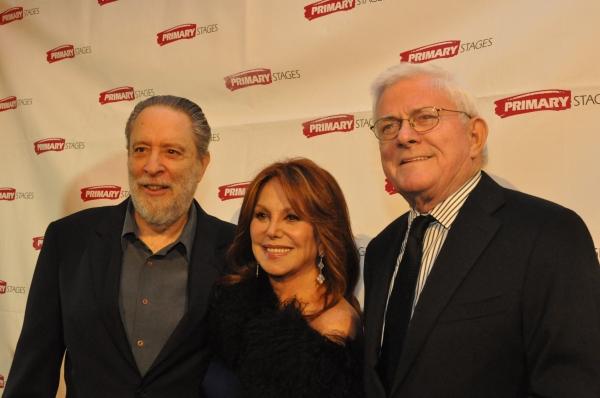 Julian Schlossberg, Marlo Thomas and Phil Donahue