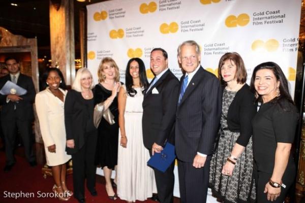 Judi Bosworth, Regina Gill, Sumi Glickman, Michael Glickman, Congressman Steve Israel, Anna Kaplan, Lee Seeman, Vivanna Russel