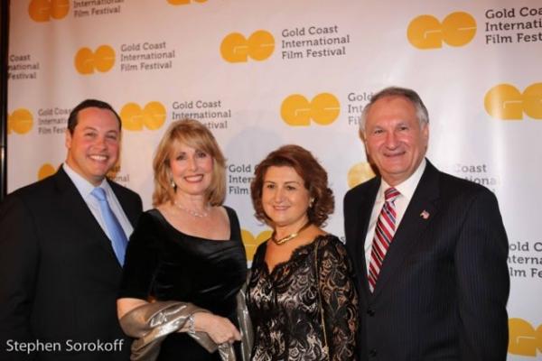 Michael Glickman, Regina Gill, Nassau County Comptoller George Maragos & wife