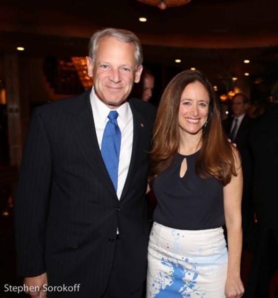 Congressman Steve Israel & Caroline Sorokoff Photo