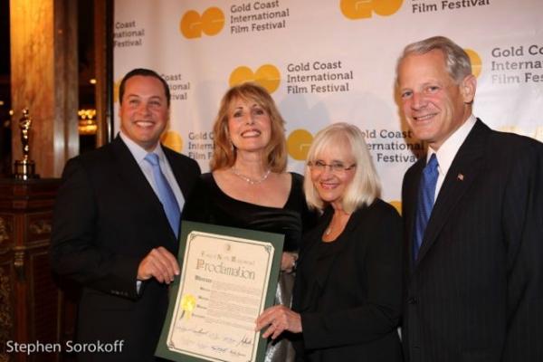 Michael Glickman, Regina Gill, Judi Bosworth, Congressman Steve Israel Photo