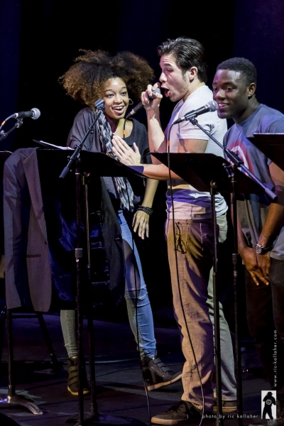 Amber Reauchean Williams, Jon Rua and Vladimir Versailles in HOW TO BREAK