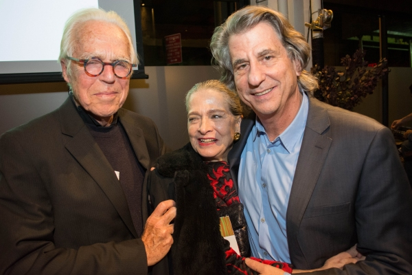 John Guare, Adele Chatfield-Taylor and David Rockwell