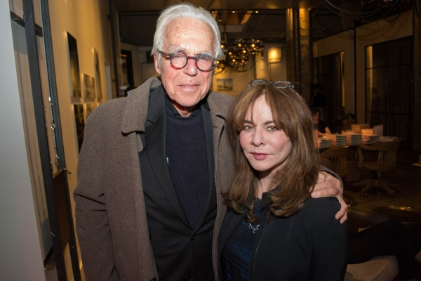 John Guare and Stockard Channing