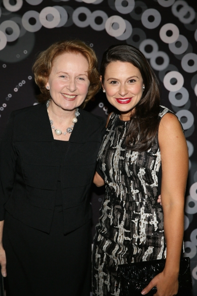 Kate Burton and Katie Lowes