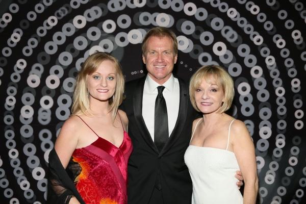 Kaitlin McCoy, Tom McCoy and Cathy Rigby