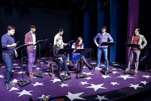 Jared Loftin, Jeremy Greenbaum, Dana Steingold, Matthew Bauman, Lindsay Mendez, Greg Kamp and Matthew Scott