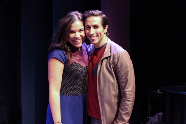 Lindsay Mendez and Matthew Scott
