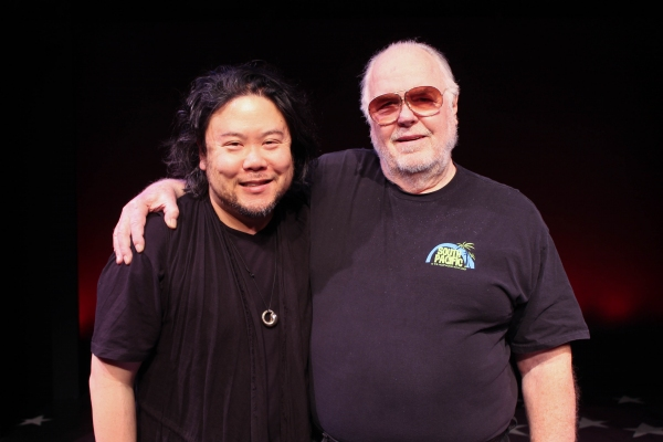 Stafford Arima, director and Paul Gemingnani, music supervisor