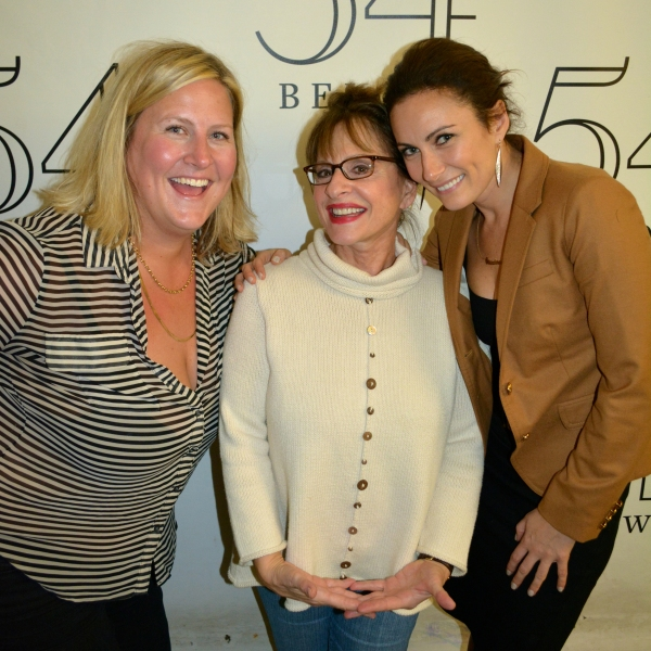 Bridget Everett, Patti LuPone, Laura Benanti