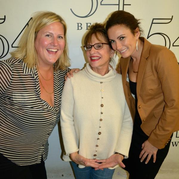 Bridget Everett, Patti LuPone, Laura Benanti