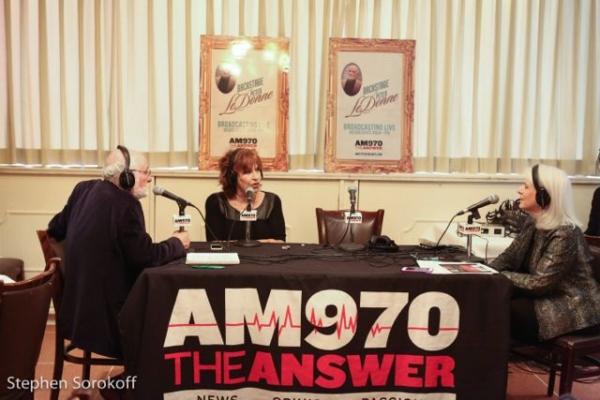 Photo Coverage: Joy Behar Visits BACKSTGE AT PETER LEDONNE at Patsy's