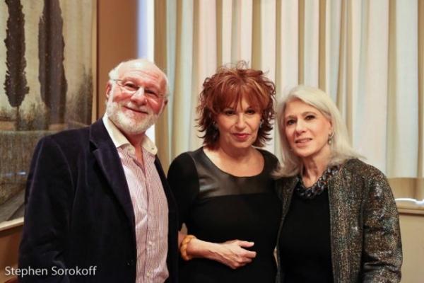Peter LeDonne, Joy Behar, Jamie deRoy