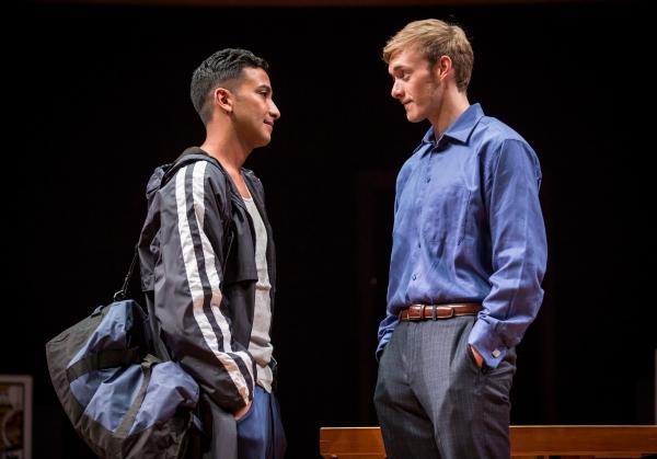 Adam Poss (Diver) and Brett Schneider (Magician)
