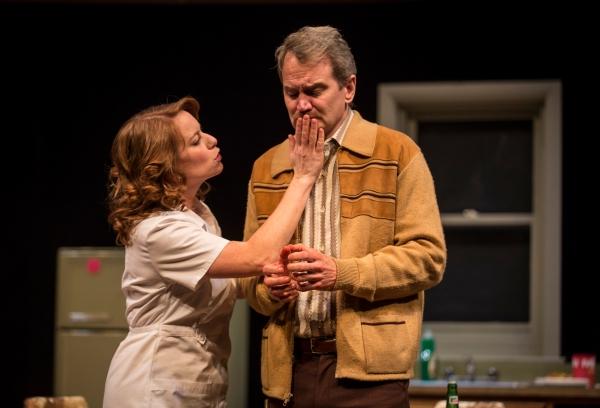 Melanie Keller (Carol) and Steve Key (Arthur)
