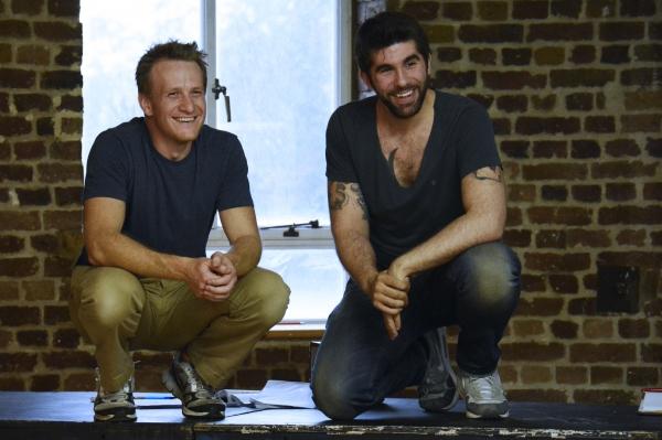 Jamie Parker and Simon Lipkin