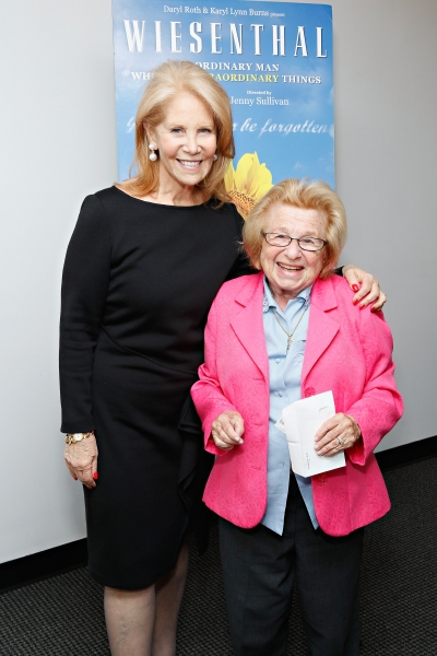 Daryl Roth and Dr. Ruth Westheimer