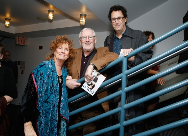 Jenny Sullivan, Len Cariou and Tony Kushner