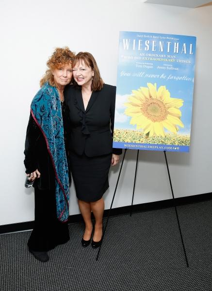 Jenny Sullivan and Karyl Lynn Burns