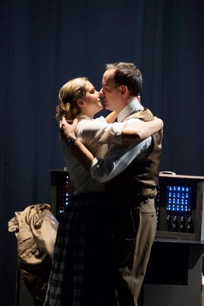 Hanley Smith (Dorothy Collins) and Erik Lochtefeld (Raymond Scott)