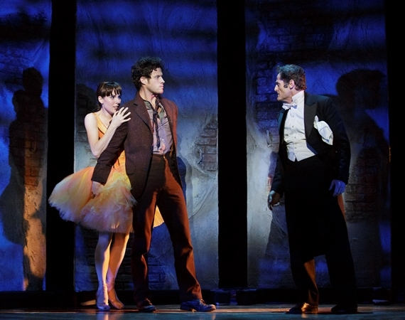 Tiler Peck, Kyle Harris, and Sean Martin Hingston