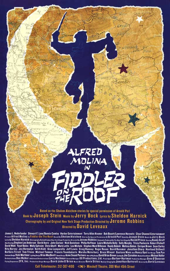 Various Zero Mostel In Fiddler On The Roof The Original Broadway Cast Recording