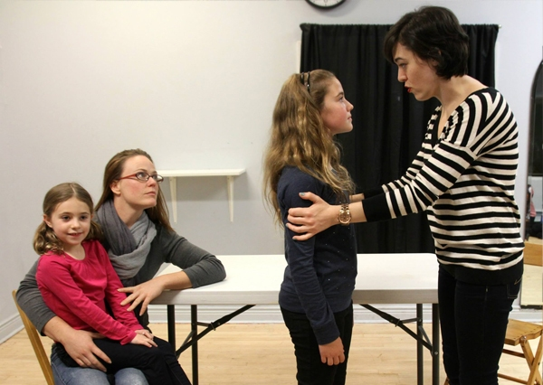 Photo Flash: In Rehearsals with NUMBER THE STARS at Davenport Theatre