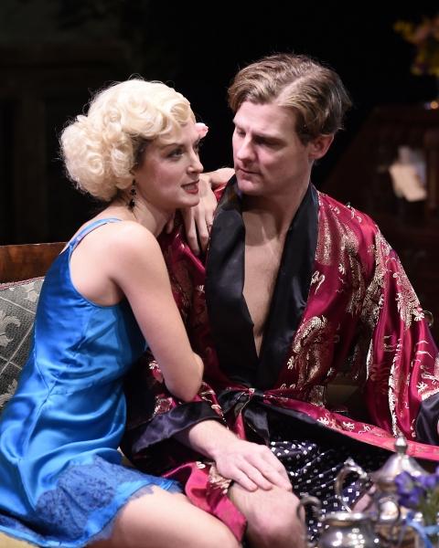 Michelle Federer as Sylvia and Jason Loughlin as Beau