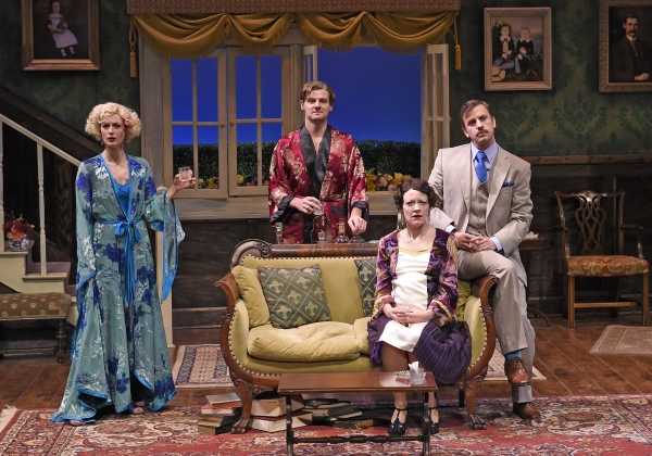 Michelle Federer as Sylvia, Jason Loughlin as Beau, Maria Couch as Marjorie and Justin Packard as Clarke