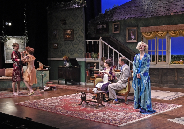 Jason Loughlin as Beau, Bailey Frankenberg as Dierdre, Maria Couch as Marjorie, Justin Packard as Clark, and Michelle Federer as Sylvia