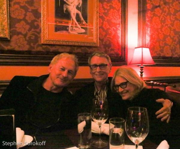 Victor Garber, Mike Nichols, Diane Sawyer