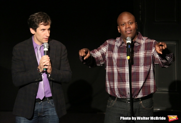 Seth Rudetsky and Tituss Burgess
