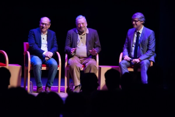 James Lapine, Stephen Sondheim, Mo Rocca