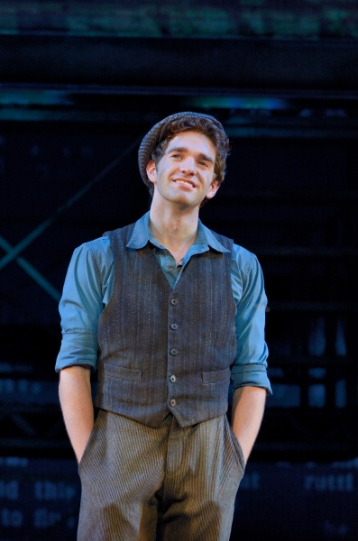 Photo Flash: First Look at Dan DeLuca, Stephanie Styles & More in NEWSIES National Tour!