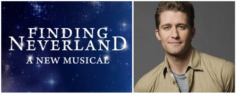Official: Matthew Morrison Will Return to Broadway in FINDING NEVERLAND!