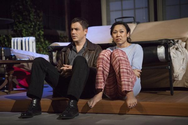 John Sloan and Angela Lin