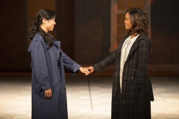 Angela Lin and Sharon Leal