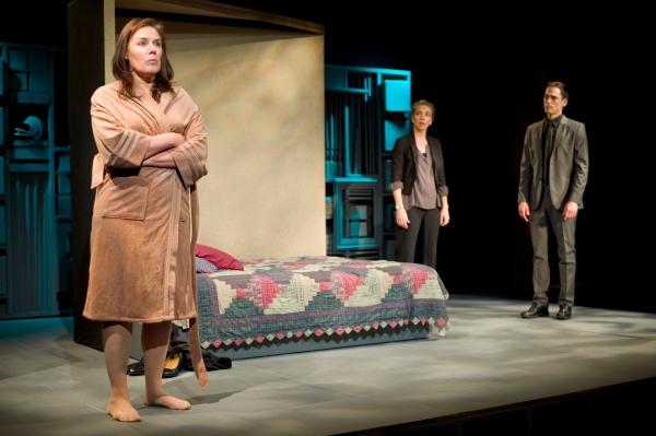 Victoria Bundonis as Dee, Mel House as Kate and Sean Hankinson as Ben Photo