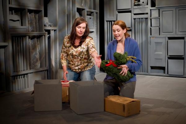 Victoria Bundonis as Dee and Emily Koch as Chloe  Photo