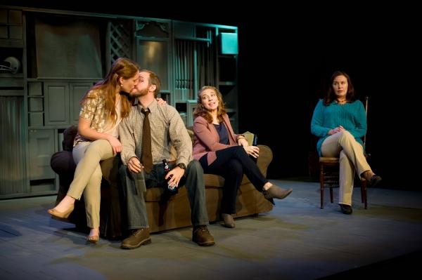 Emily Koch as Chloe, Zac Hoogendyk as Kenny, Mel House as Kate and Victoria Bundonis  Photo