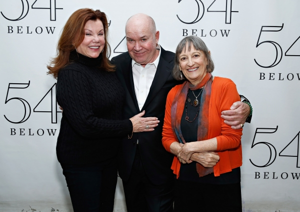 Jack O''Brien with actress Marsha Mason and Patricia Conolly