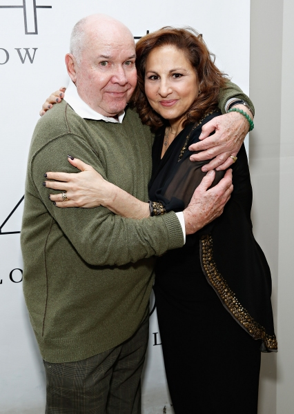 Jack O''Brien with actress Kathy Najimy
