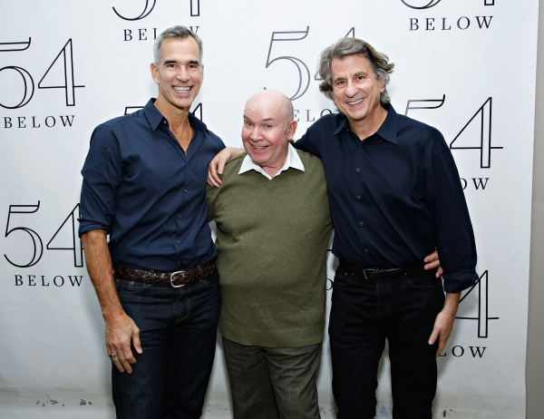 Jack O''Brien with director/choreographer Jerry Mitchell and designer/architect David Rockwell
