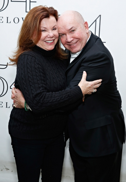 Jack O''Brien with actress Marsha Mason