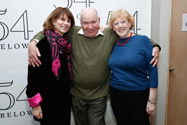 Jack O''Brien with producer Margo Lion and Broadway general manager Charlotte Wilcox