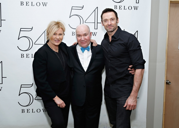 Jack O''Brien with actress Deborra-Lee Furness and actor Hugh Jackman